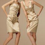 2 silk dresses
