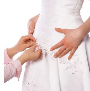 Az esküvői ruha varrás nagy felelősség