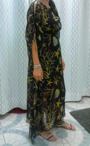 muszlin ruha